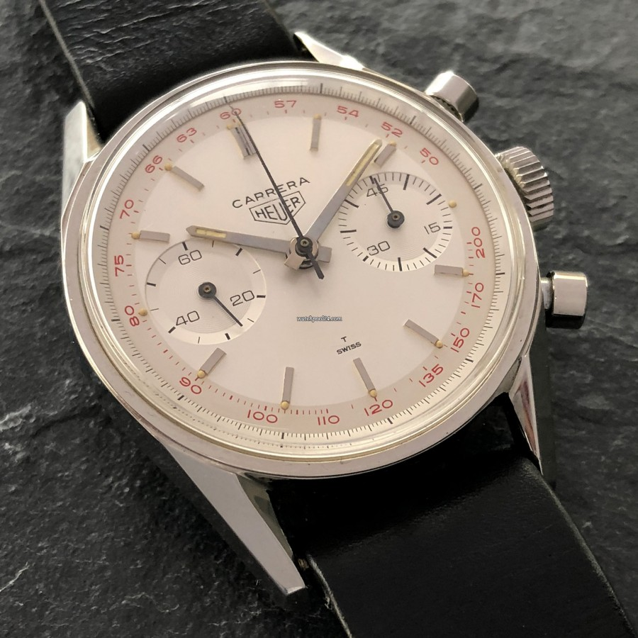 Heuer Carrera 3647 ST - NOS - condition makes the difference