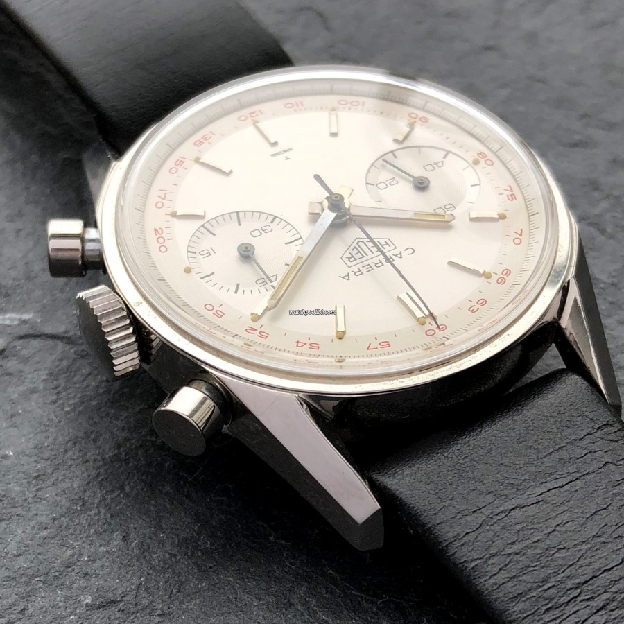 Heuer Carrera 3647 ST - NOS - sharp edges