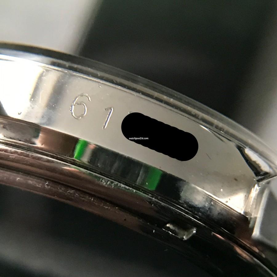 Heuer Carrera 3647 ST - NOS - deutlich sichtbare Seriennummer