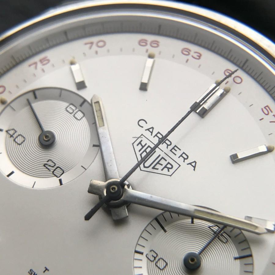 Heuer Carrera 3647 ST - NOS - die drei wichtigsten Regeln für Uhrensammler: Zustand, Zustand, Zustand