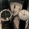 Heuer Carrera 2447 N - Early - die Uhr neben der 'Eggshell Early'-Carrera bei der Phillips Auktion im November 2017