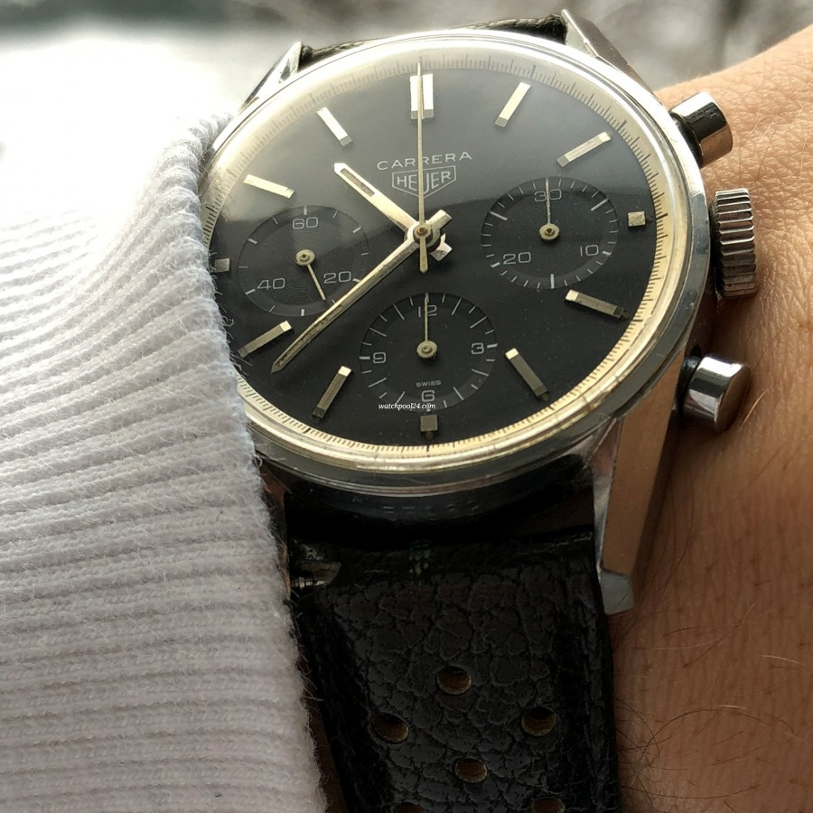 Heuer Carrera 2447 N - Early