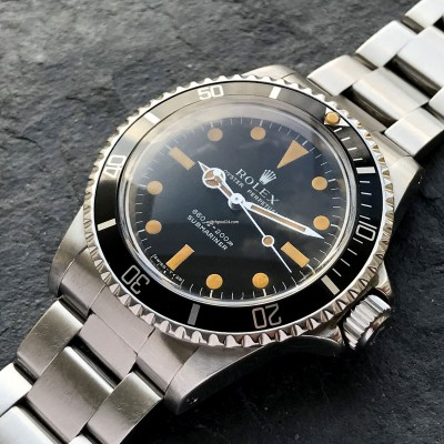 Rolex Submariner 5513 - Brown Patina
