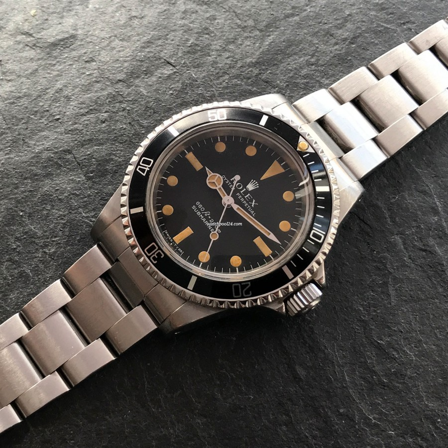 Rolex Submariner 5513 - Brown Patina
