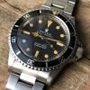 Rolex Submariner 5513 - Brown Patina - warm brown patina