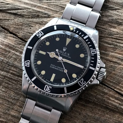 Rolex Submariner 5513 - Box and Papers
