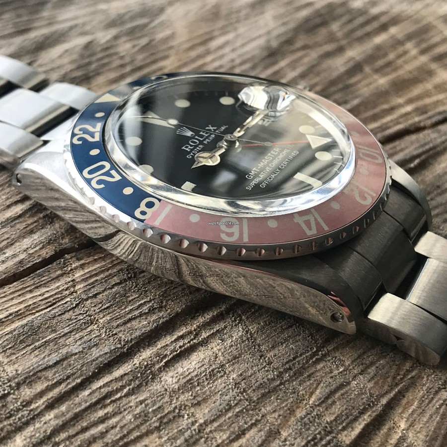 Rolex GMT Master 1675 MK1 Long E - Papers - oyster case in great condition