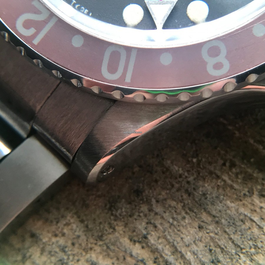 Rolex GMT Master 1675 MK1 Long E - Papers - scharfe Gehäusekante