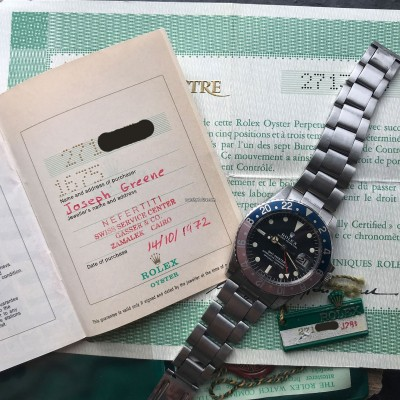 Rolex GMT Master 1675 MK1 Long E - Papers