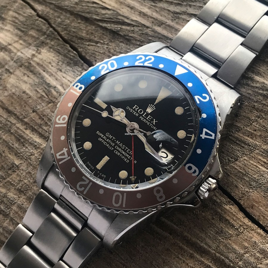 Rolex GMT Master 1675 - Glossy Dial - Rolex GMT-Master 1675 with glossy dial