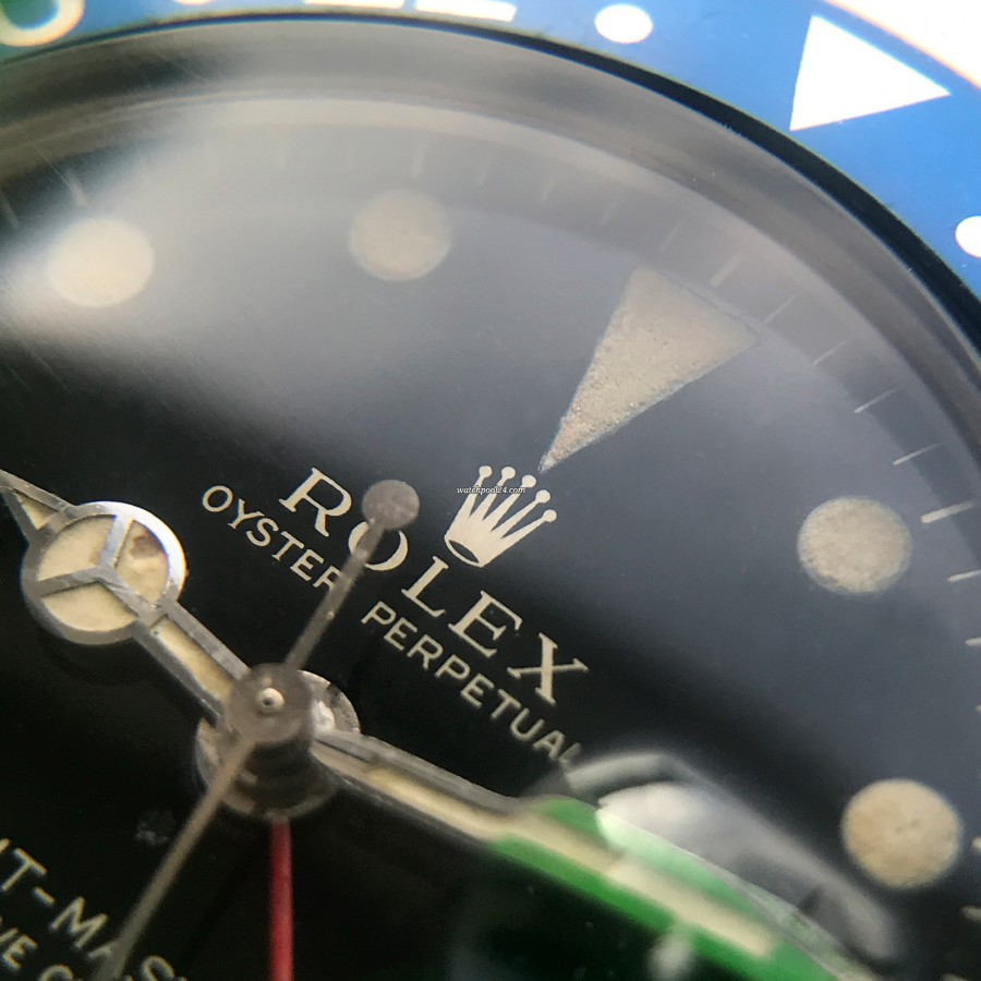 Rolex GMT Master 1675 - Glossy Dial - glossy dial in great condition