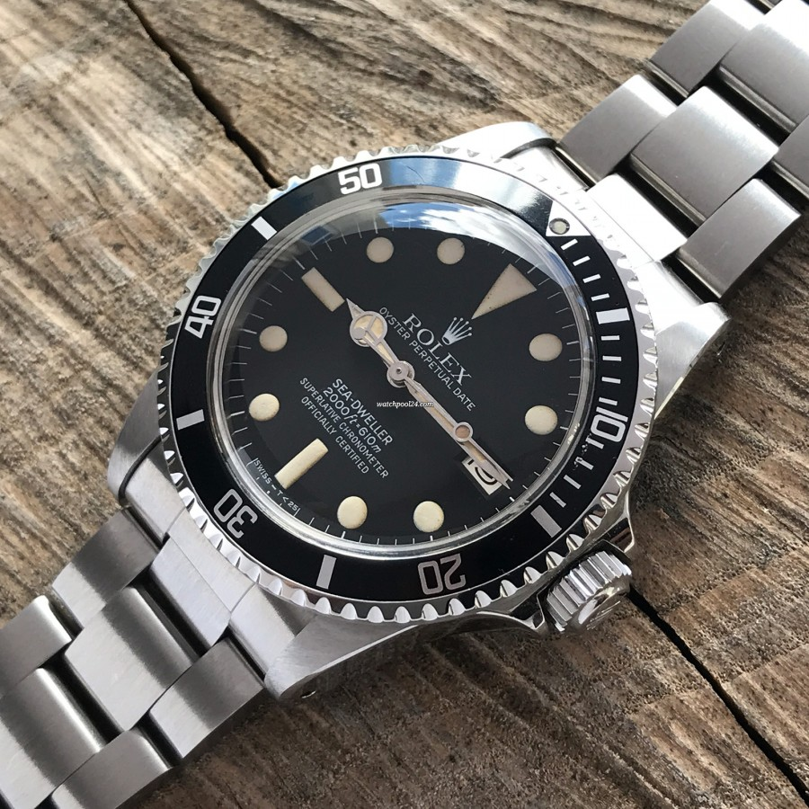 Rolex Sea-Dweller 1665 MK4 - mattschwarzes Zifferblatt MK4