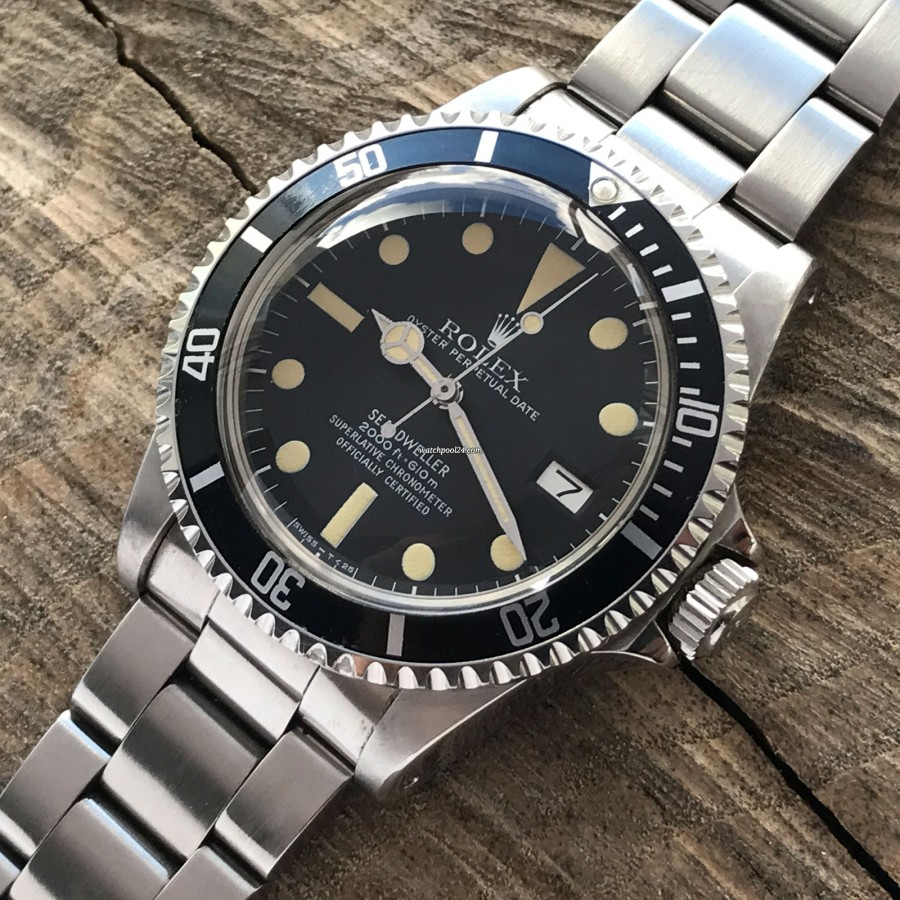 Rolex Sea-Dweller 1665 - MK1 - Great White
