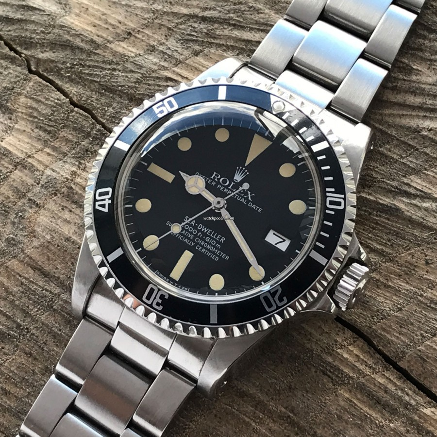 Rolex Sea-Dweller 1665 - MK1 - Great White - matte black MK1 dial