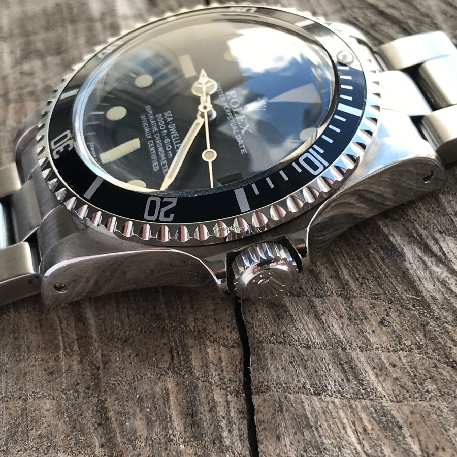 Rolex Sea-Dweller 1665 - MK1 - Great White - Rolex Oyster case in beautiful condition