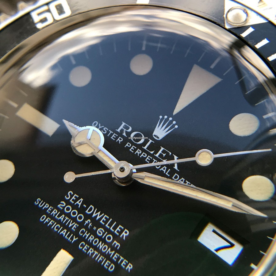 Rolex Sea-Dweller 1665 - MK1 - Great White - a watch to fall in love with