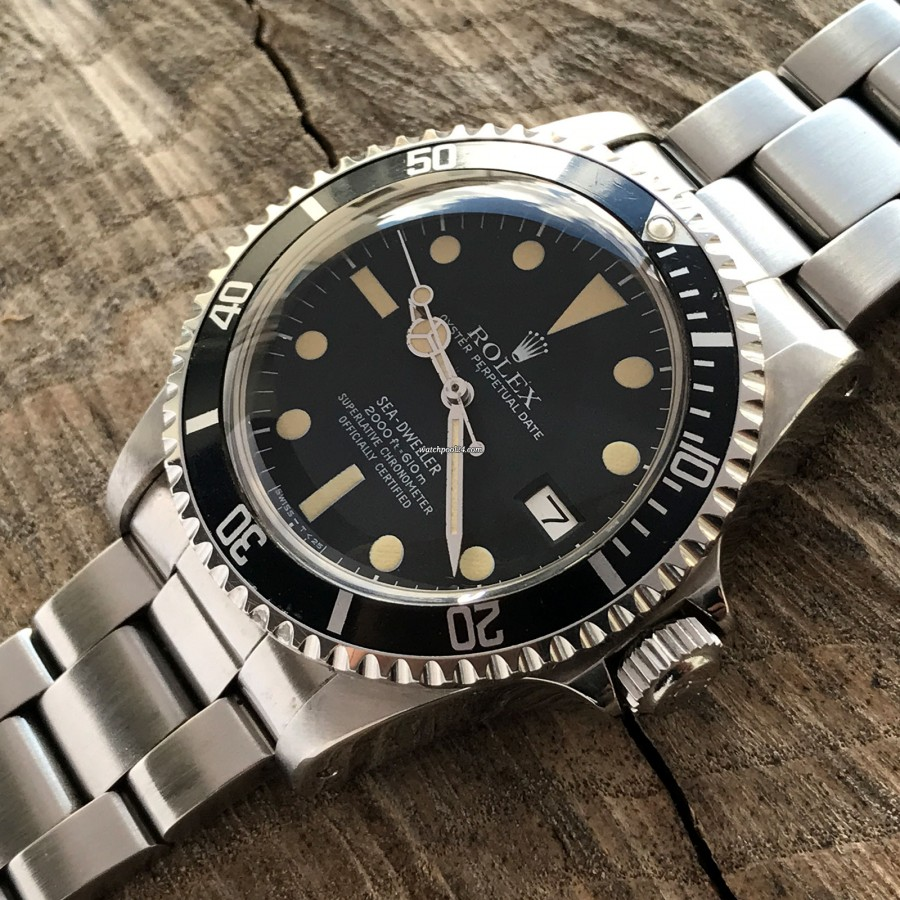 Rolex Sea-Dweller 1665 - MK1 - Great White - black Sea-Dweller bezel in very good condition