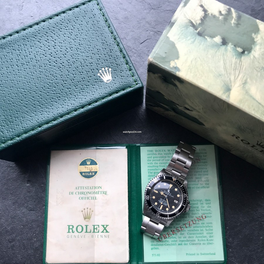 Rolex Sea-Dweller 1665 Rail Dial - Box and Papers - what watch collectors are seeking for: original box and papers