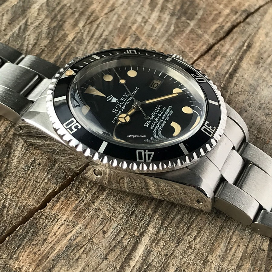 Rolex Sea-Dweller 1665 Rail Dial - Box and Papers