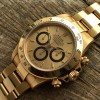 Rolex Daytona 16528 - Papers and Sticker - champagne dial with black rings