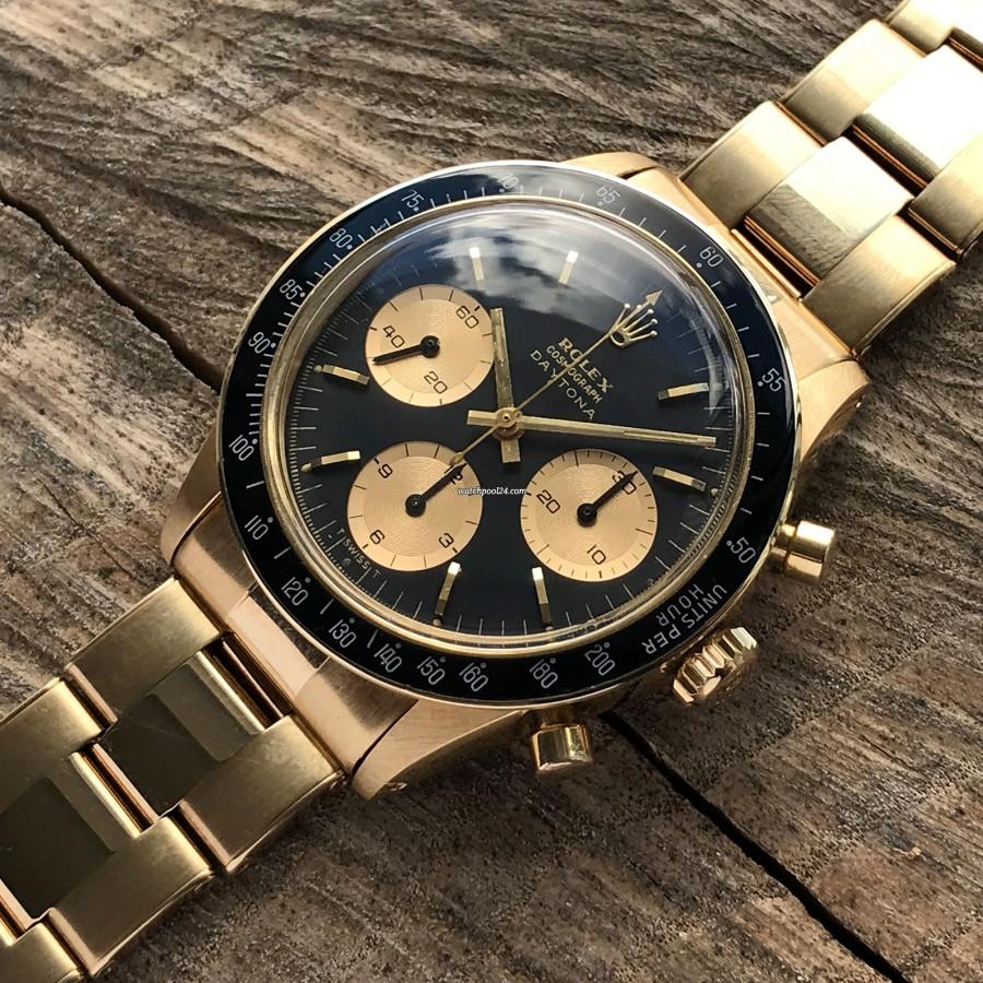 Rolex Daytona 6241 Jumbo Logo - 14 Karat Gelbgold 6241 Daytona. Was für eine Schönheit ...