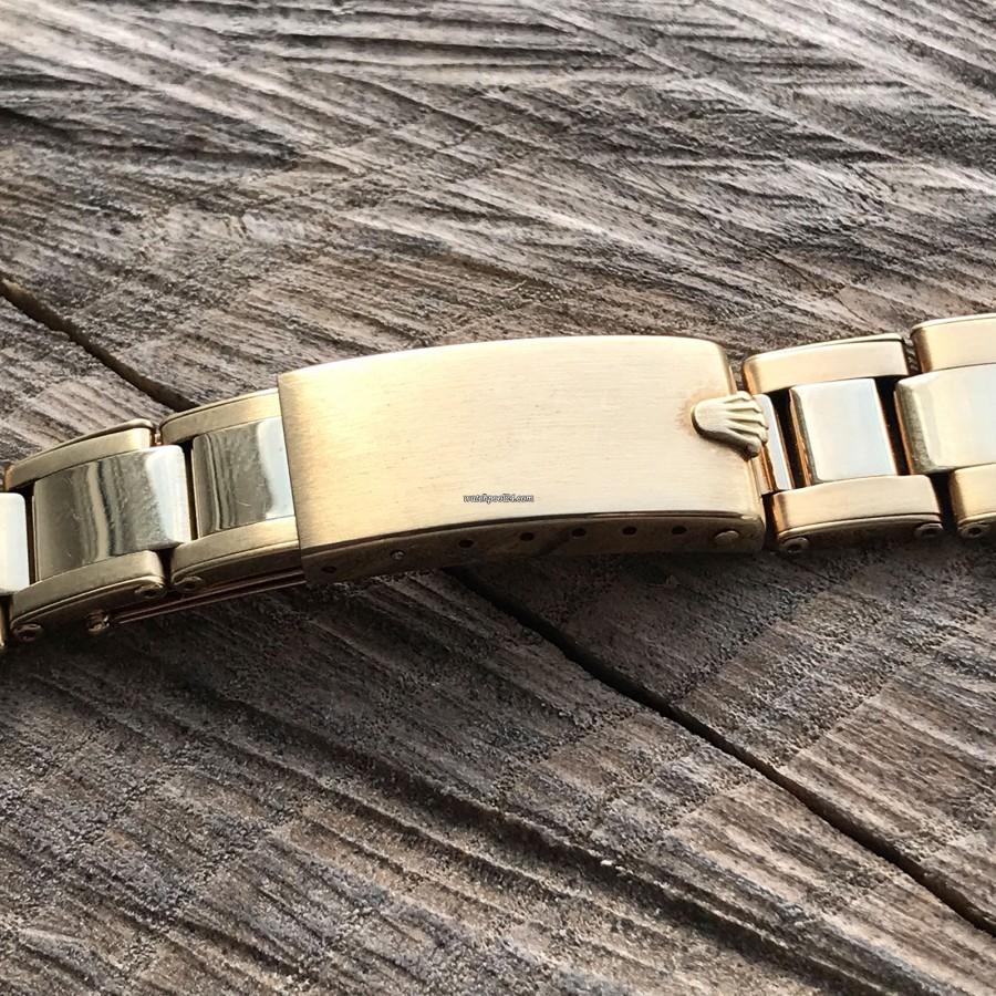 Rolex Daytona 6241 Jumbo Logo - 14k yellow gold Rolex clasp