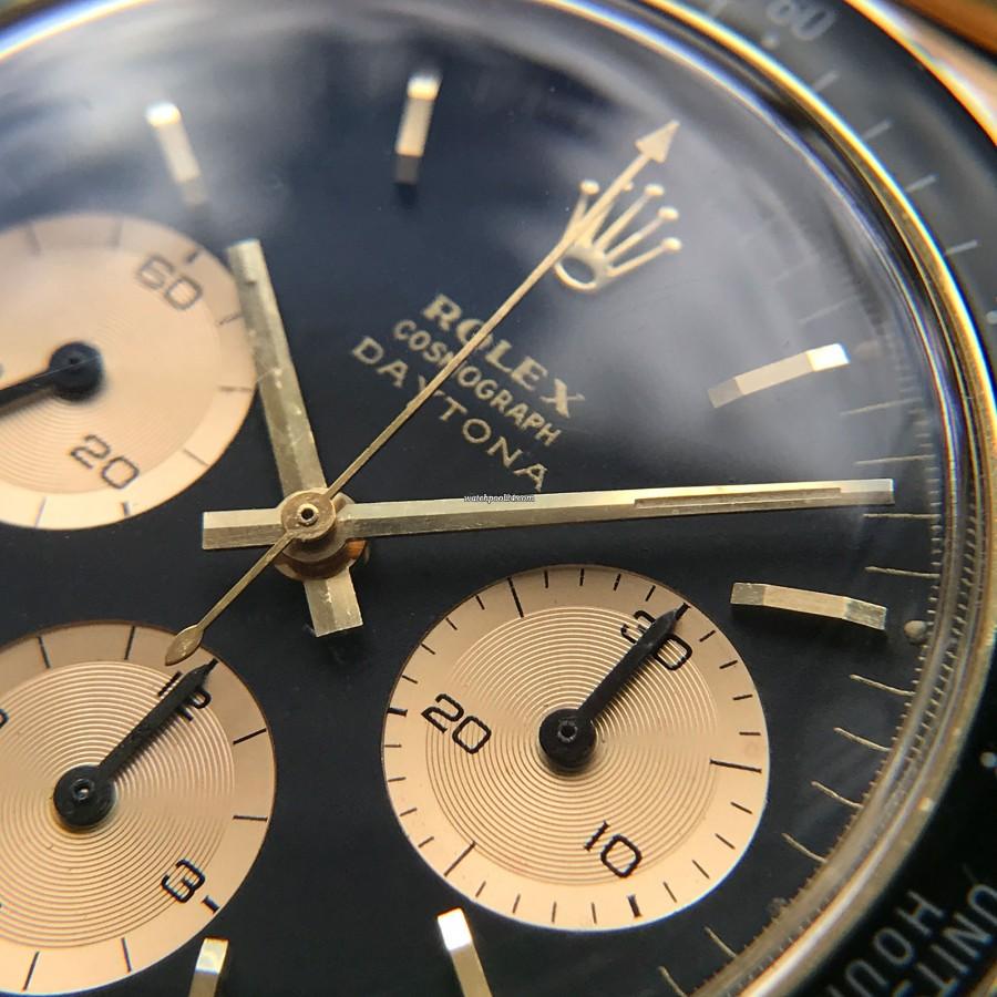 Rolex Daytona 6241 Jumbo Logo - jumbo 'DAYTONA' Logo - very rare dial