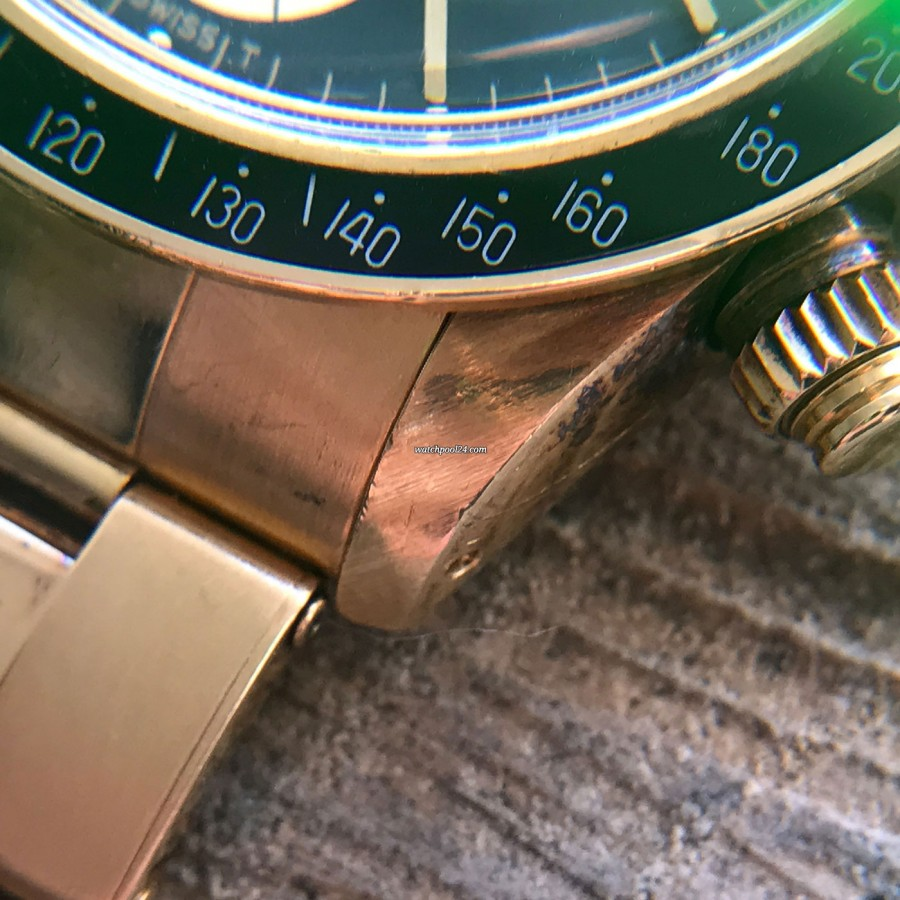 Rolex Daytona 6263 - Safe Queen - golden lug with oxidation
