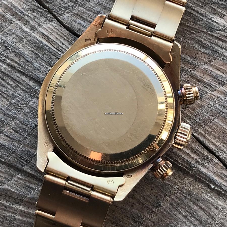 Rolex Daytona 6263 - Safe Queen - oyster bracelet reference 7205 - end links 71