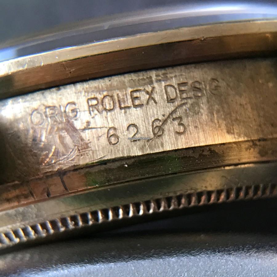 Rolex Daytona 6263 - Safe Queen - Rolex reference 6263