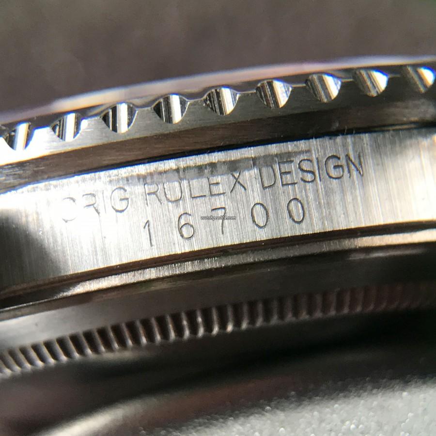 Rolex GMT Master 16700 Pepsi Bezel - Rolex Referenz 16700