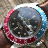 Rolex GMT Master 1675 Tropical OCC Full Set - swiss radium dial, chapter dial