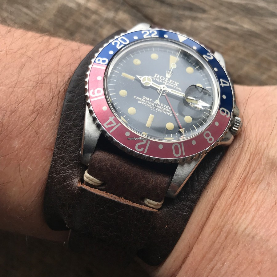 Rolex GMT Master 1675 Underline - Radial Dial - charming sight in the sun