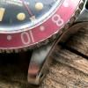 Rolex GMT Master 1675 Underline - Radial Dial - sharp case edge