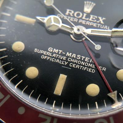 Rolex GMT Master 1675 Underline - Radial Dial