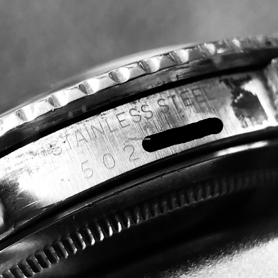 Rolex GMT Master 1675/3 Nipple Dial - serial number 567XXXX  (1978)