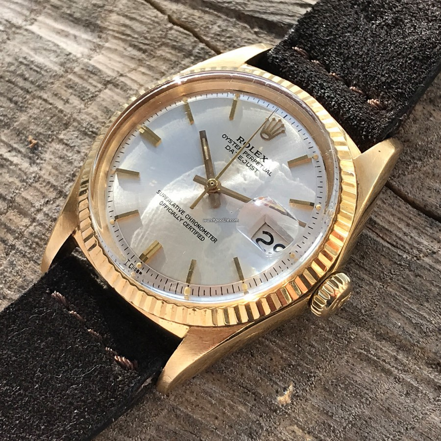Rolex Datejust 1601 Step Dial - Papers - elegantes und zeitloses Design
