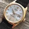Rolex Datejust 1601 Step Dial - Papers - gleichmäßige Tritium-Leuchtmasse in den Stundenpunkten und Zeigern
