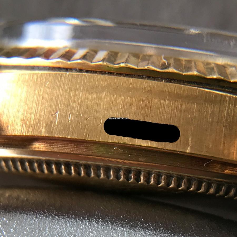 Rolex Datejust 1601 Step Dial - Papers - Seriennummer 152xxxx (1967)