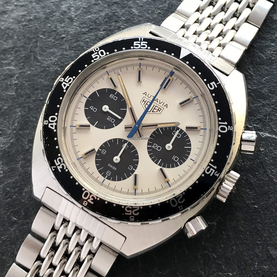 Heuer Autavia 73663 Siffert Color