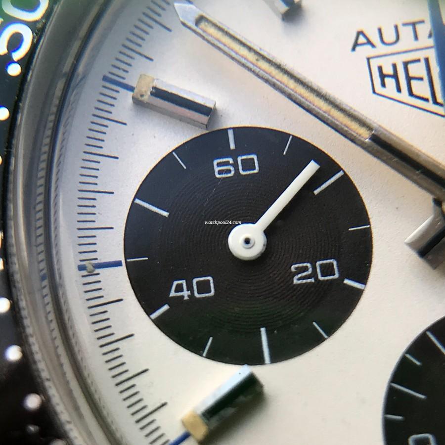 Heuer Autavia 73663 Siffert Color - Hilfszifferblatt mit kleiner Sekunde