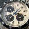 Heuer Autavia 73663 Siffert Color - gleichmäßige beige Leuchtmasse in Stundenmarkern und Zeigern
