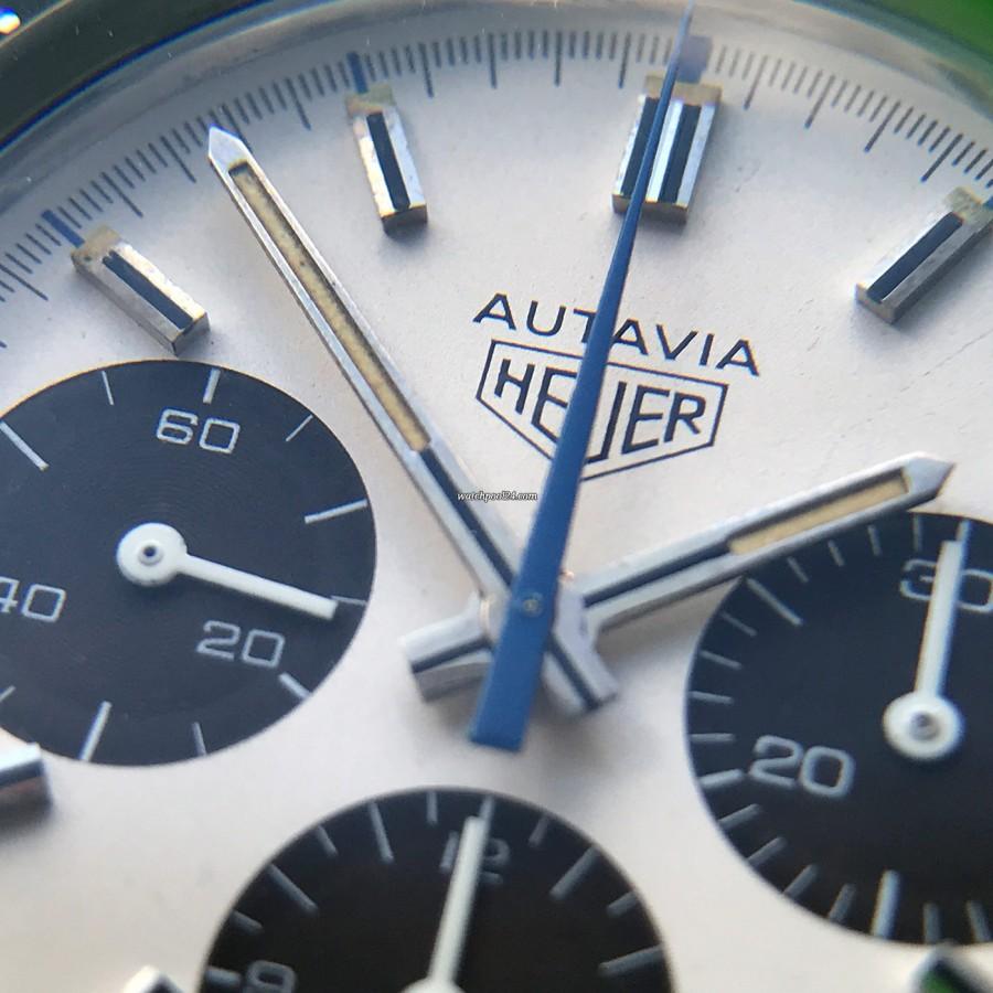 Heuer Autavia 73663 Siffert Color - wunderbares Sammlerstück für jeden Heuer-Liebhaber