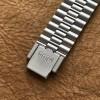 Heuer Monaco 1133B - NOS - Sticker - Novavit S.A. (NSA) Armband, Heuer-Logo auf der Schließe