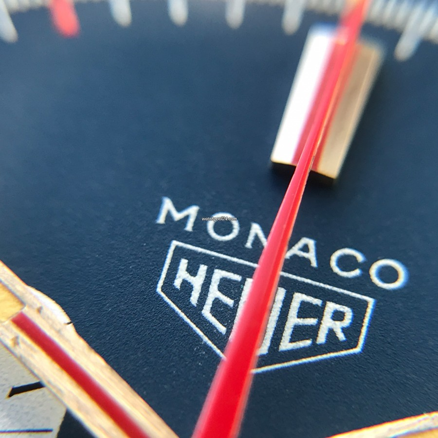 Heuer Monaco 1133B - NOS - Sticker - in love with HEUER MONACO