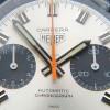 Heuer Carrera 1153 - Silver Dial - gray chrono sub dials