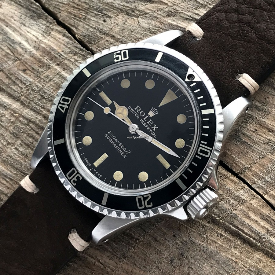 Rolex Submariner 5513 PCG - very special and rare collector's watch