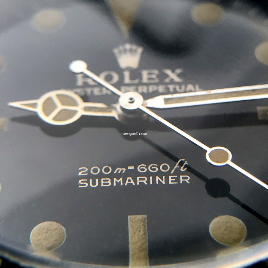 Rolex Submariner 5513 PCG - a class find for all collectors