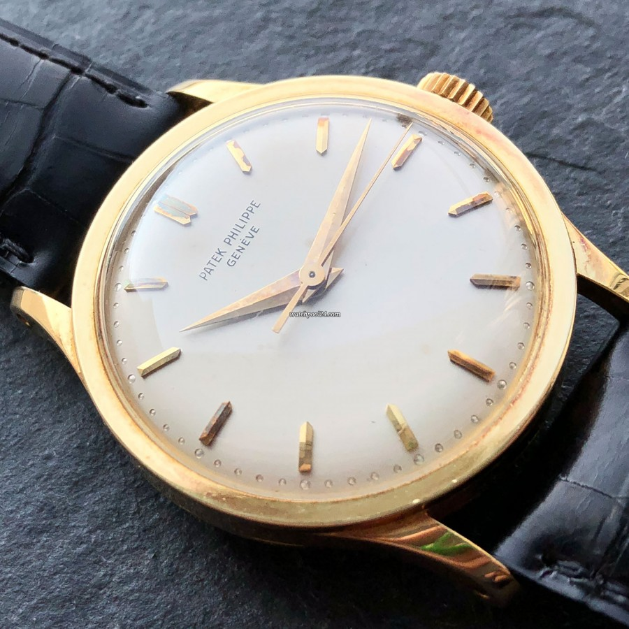 Patek Philippe Calatrava 570 Jumbo - partially oxidized hour markers