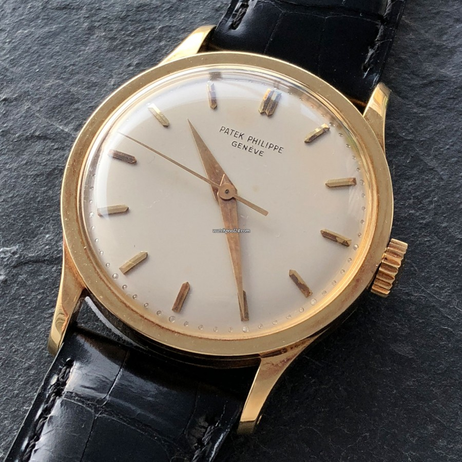 Patek Philippe Calatrava 570 Jumbo - simple and elegant watch